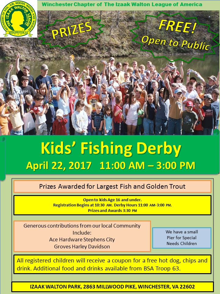 Winchester 2017 Spring Fishing Derby